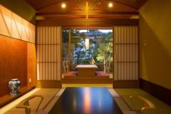【別邸美悠】庭園側63平米和室イメージ