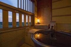 【悠々の階】和モダン客室露天風呂イメージ