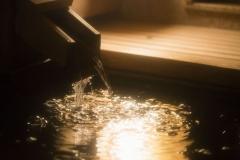 【悠々・遥々の階】純和室客室露天風呂イメージ