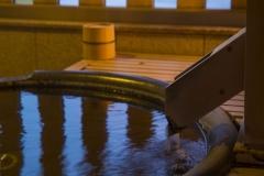 【遥々の階】和モダン洋室客室露天風呂イメージ