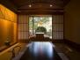 【別邸美悠】坪庭側65平米温泉露天付和洋特別室